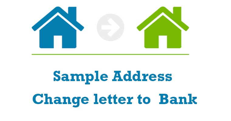 Address Change letter to Bank
