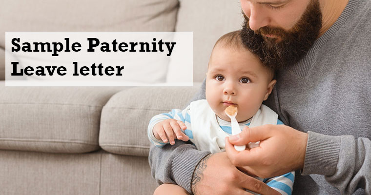Paternity Leave letter