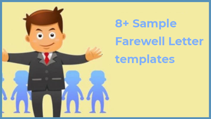 Farewell Letter templates