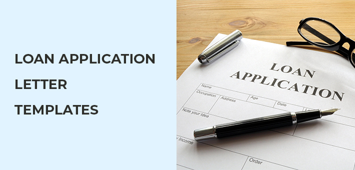 Loan Application letter Templates
