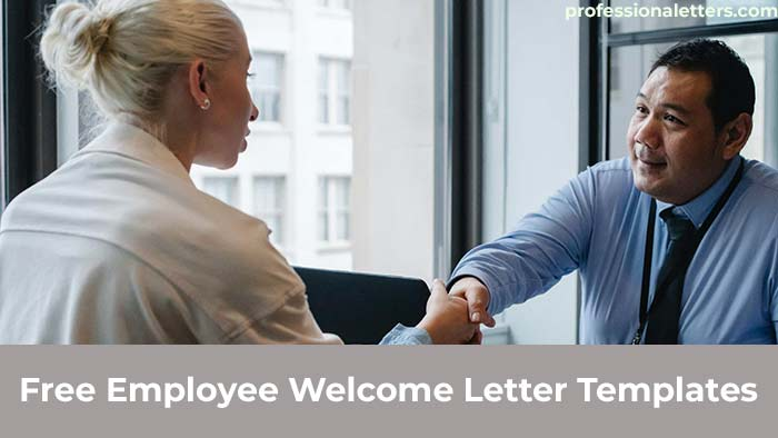 Free Employee Welcome Letter Templates
